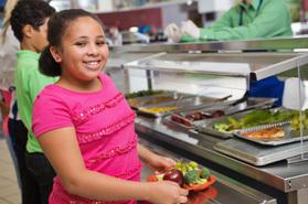 Salad Bars Grow in Number in Public Schools