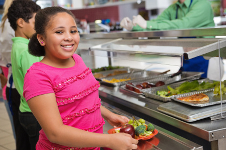 Salad Bars Grow in Number in Public Schools
