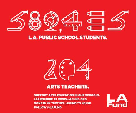 L.A. Philanthropic Group Commits Large Sum to Promote Arts in District Schools
