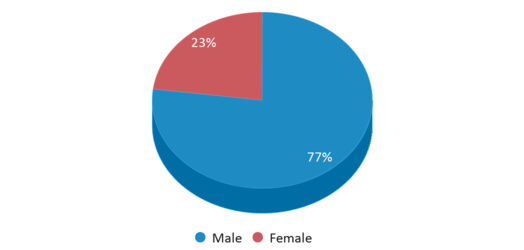 This chart display gender of Pathways Academy